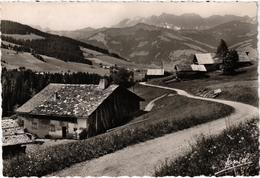 MEGEVE (74) Vers Le Planelet, La Chaîne Et La Porte Des Aravis - Belle Carte - Megève