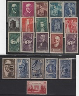 FR 1003 - FRANCE Lot De 21 Valeurs Neufs* Année 1938 - Nuovi