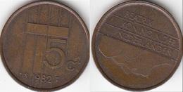 Olanda 5 Cents 1982 Stuiver KM#202 - Used - [ 3] 1815-… : Regno Dei Paesi Bassi
