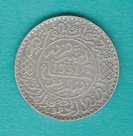 Morocco - Yusuf - 2½ Dirham / ¼ Rial - AH1331 (1913) - KMY31 - Maroc