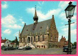 Cpsm Dentelée - Damme - Stadhuis - Hôtel De Ville - Vieilles Voitures - KRUGER - 1969 - Damme