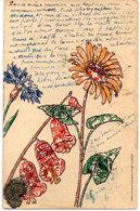 Repro Timbres Découpés (Fleurs)! (110980) - Stamps (pictures)