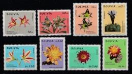 1971 Bolivia Cactus Fiori Flowers Blumen Fleurs MNH** B542 - Bolivia