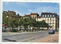Annonay : Place Des Cordeliers, Hotel Du Midi Et Couvent Sainte Marie (cp Vierge N°1870 Combier) - Annonay