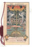 CALENDARIETTO BERTELLI  ALMANACCO 1919  GLI ELEMENTI - Calendari
