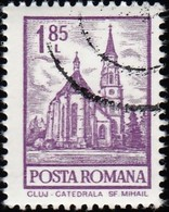 ROMANIA - Scott #2353 St. Michael's Cathedral, Cluj (*) / Used Stamp - 1948-.... Republics