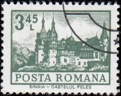 ROMANIA - Scott #2356 Sinaia Castle (*) / Used Stamp - 1948-.... Republics
