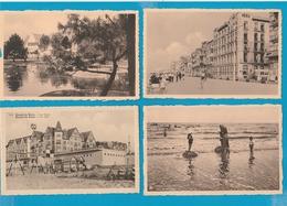 BELGIË Knokke Lot Van 60 Oude Postkaarten (formaat 9 X 14 Cm) - Cartes Postales
