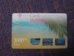 T-card, Holiday,used(used In Spain?) - GSM, Cartes Prepayées & Recharges