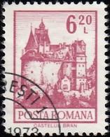 ROMANIA - Scott #2359 Bran Castle (*) / Used Stamp - 1948-.... Republics