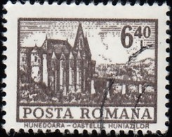 ROMANIA - Scott #2360 Hunedoara Castle (*) / Used Stamp - 1948-.... Republics