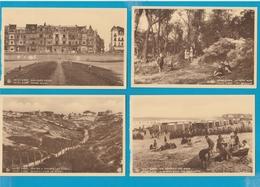 BELGIË Belgische Kust Lot Van 60 Oude Postkaarten (formaat 9 X 14 Cm) - Cartes Postales
