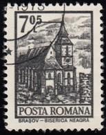 ROMANIA - Scott #2362 Black Church, Brasov (*) / Used Stamp - 1948-.... Republics