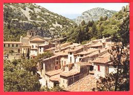 CPM-34- ST-GUILHEM-Le-DESERT _ Les Toits Du Village Et L'Abbaye ** 2 SCANS - Autres Communes