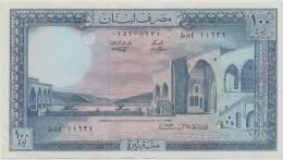 LEBANON P. 66c 100 L 1983  XF+ - Libano