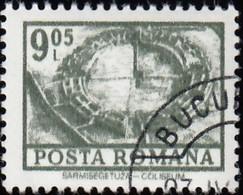 ROMANIA - Scott #2364 Excavated Coliseum, Sarmizergetusa (*) / Used Stamp - 1948-.... Republics
