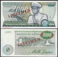 Zaire 1000 Zaires 1985 UNC Specimen - Zaïre
