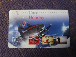 T-card, Holiday,used - GSM, Cartes Prepayées & Recharges