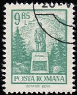 ROMANIA - Scott #2366 Monument, Cetatea (*) / Used Stamp - 1948-.... Republics