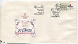 CSSR # 2484 FDC. Tag Der Briefmarke, Alfons Mucha Maler Grafiker Jugendstil. Ersttagssonderstempel. - FDC
