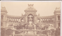 13 / MARSEILLE / PALAIS LONGCHAMP /   PHOTO COLLEE SUR CARTON - FIN XIXe DEBUT XXe Siècle - Anciennes (Av. 1900)