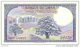LEBANON P. 66d 100 L 1988 UNC - Lebanon