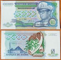 Zaire 5000 Zaires 1988 UNC - Zaïre