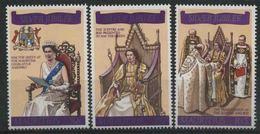 1977 Mauritius, 25 Anniversario Incoronazione Elisabetta II° , Serie Completa Nuova (**) - Mauritius (1968-...)