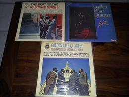 GOLDEN GATE QUARTET - Ensemble De 3 Disques Vinyles 33T Dont Un Double Album Live - Religion & Gospel