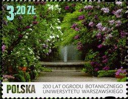 Poland - 2018 - 200 Years Of Botanical Garden Of The University Of Warsaw - Mint Stamp - Ungebraucht