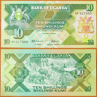 Uganda 10 Shillings 1987 UNC - Ouganda