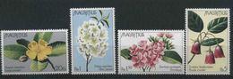 1978 Mauritius, Fiori , Serie Completa Nuova (**) - Maurice (1968-...)
