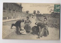 Nos Douaniers à La Frontière - 1912 - Retour Des Champs - Visitées Quand Même -  Gros Plan - Animée - Douane