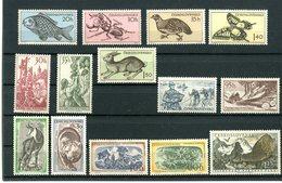 Tchécoslovaqui, 3 Séries 1955/1957 Neufs** (MNH) - Tchécoslovaquie