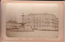 03 / VICHY / HOTEL DES AMBASSADEURS /   PHOTO COLLEE SUR CARTON - FIN XIXe DEBUT XXe Siècle / 16 X 10 CM - Photos