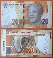 South Africa 20 Rand 2013 AUNC/UNC - Afrique Du Sud