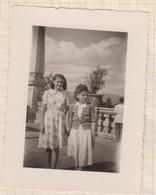 8AK4157 PHOTO AMATEUR 8 X 10.5 CM PARC BORAMET ????? 1948 2 SCANS - Lieux