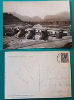 Cartolina Calmazzo (Pesaro) - Diga U.N.E.S. - S. Lazzaro. Viaggiata - Pesaro