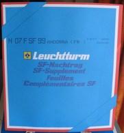 Leuchtturm - JEU ANDORRE FRANCAIS 1999 SF (Avec Pochettes) - Albums & Reliures