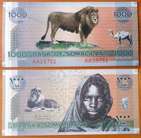 Somaliland 1000 Shillings 2006 UNC Radar 15751 - Autres - Afrique