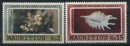 1991 Mauritius, Fiori E Conchiglie, Serie Non Completa Nuova (**) - Mauritius (1968-...)