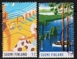 2012 Finland, Europa Cept,  Complete Used Set. - Finlande