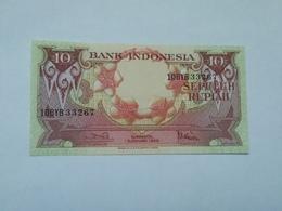 INDONESIA 10 RUPHIA 1959 - Indonesia