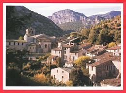 CPM-34-ST-GUILHEM-Le-DESERT _ Village Et Abbatiale ** 2 SCANS - Autres Communes