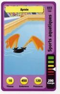 Trading Card Carte Auchan La Fete Du Sport 2014 Verso Domino Tex Avery N° 33 - Trading Cards