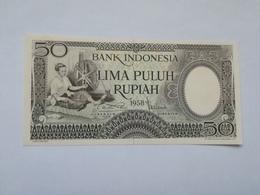 INDONESIA 50 RUPHIA 1958 - Indonesië