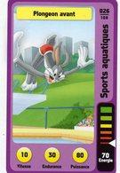 Trading Card Carte Auchan La Fete Du Sport 2014 Verso Domino Tex Avery N° 26 - Trading Cards