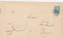 Danemark Lettre De Service 1912 - Lettres & Documents