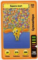 Trading Card Carte Auchan La Fete Du Sport 2014 Verso Domino Tex Avery N° 46 - Trading Cards