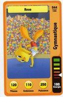 Trading Card Carte Auchan La Fete Du Sport 2014 Verso Domino Tex Avery N° 44 - Non Classificati
